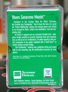 Seymour Duncan Blues Saraceno PATB-3 box