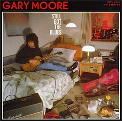 gary moore 'still got the blues' back cover
