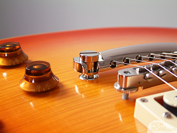 Gotoh Lightweight Aluminum Tailpiece installed